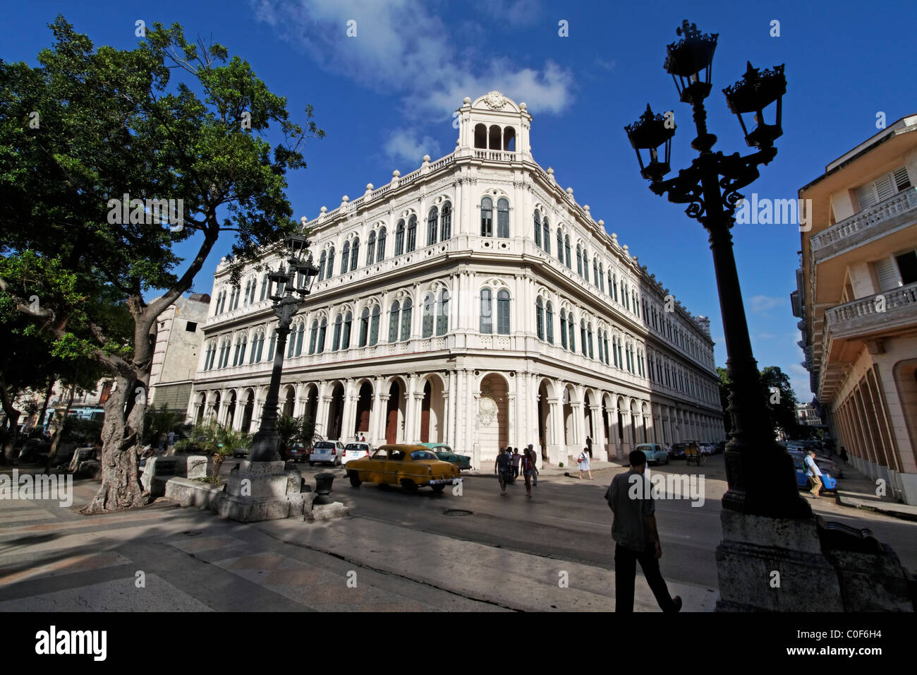Paseo de Marti, Prado, Havanna Kuba Stockbild