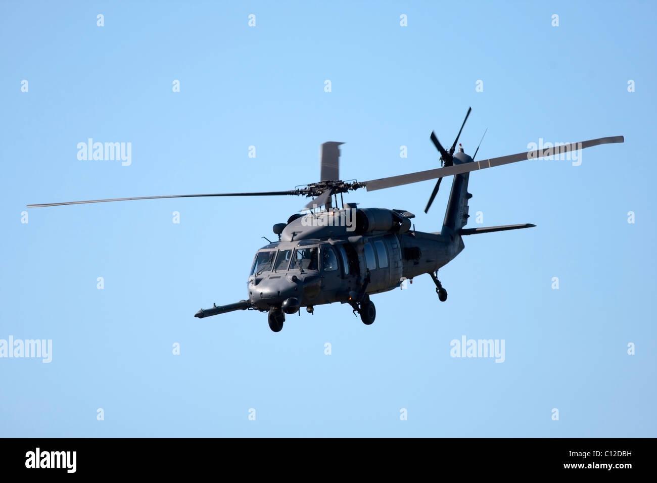 Militärhubschrauber Air zeigen in Cape Town, South Africa, September 2010 Stockbild