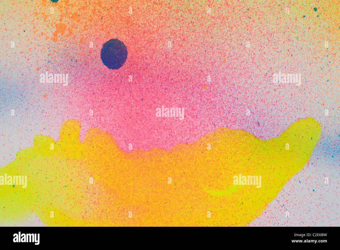 Bunte abstrakte Hintergrund Stockfoto
