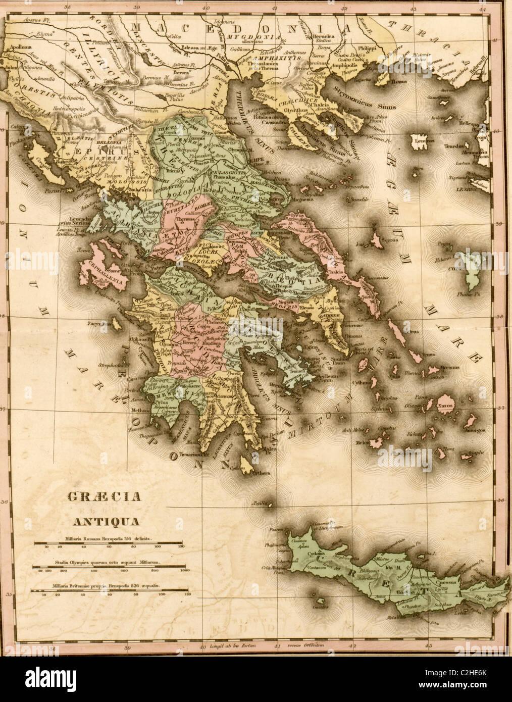 Antiken Griechenland Stockbild
