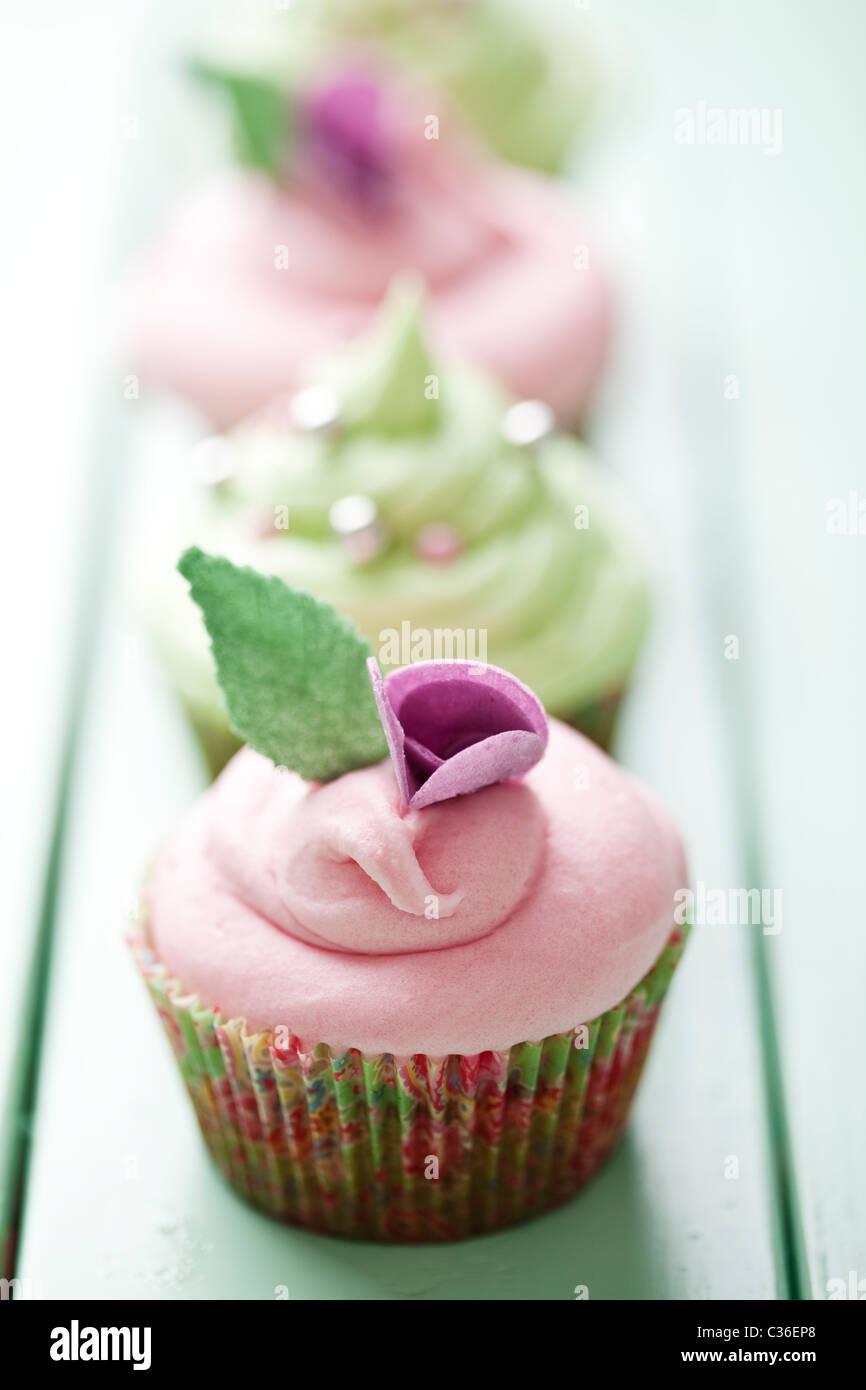 Cupcakes Stockbild