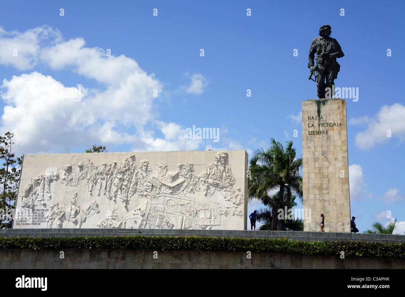 Che-Guevara-Denkmal und das Mausoleum, Santa Clara, Kuba Stockbild