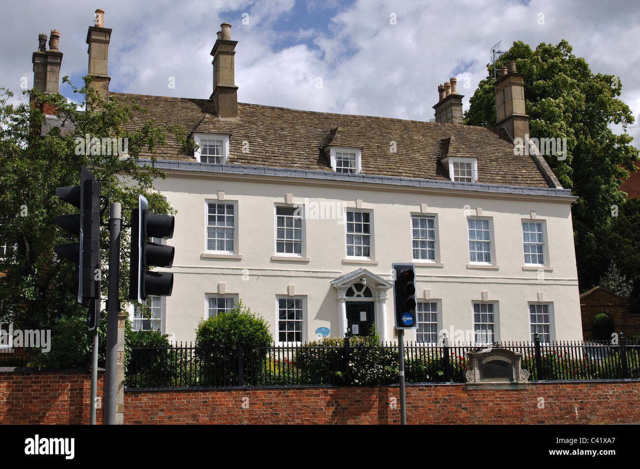 Die ehemaligen Missionshaus Carey, Kettering, Northamptonshire, England, UK Stockbild