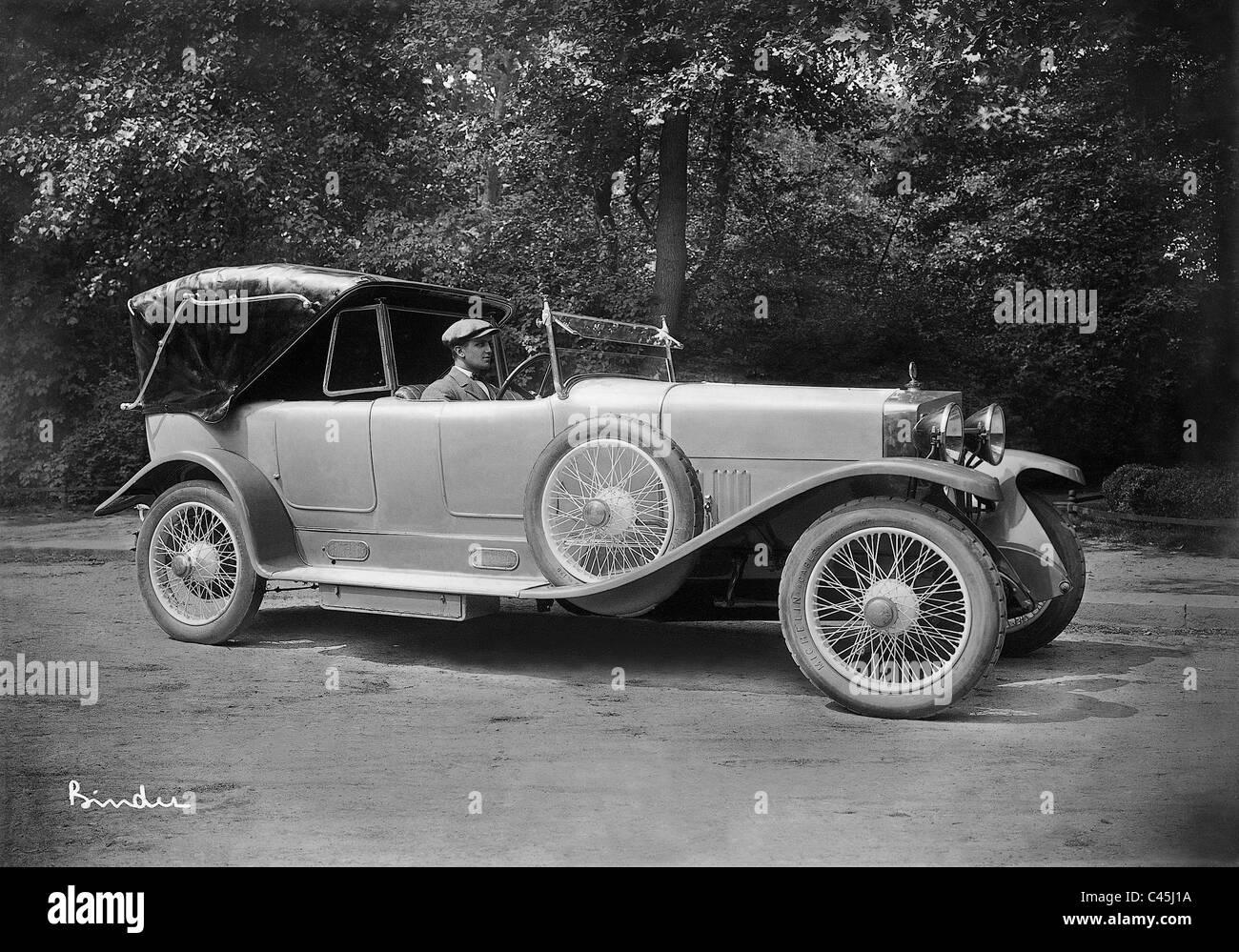 Automobile von Alfa Romeo, 1926 Stockbild
