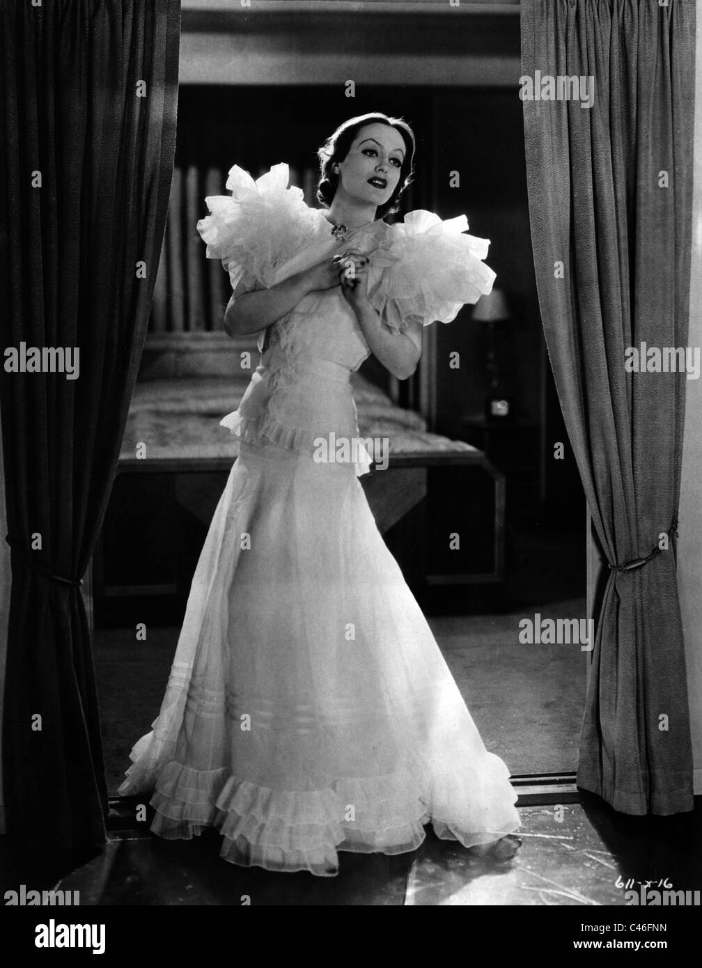 Joan Crawford Stockbild