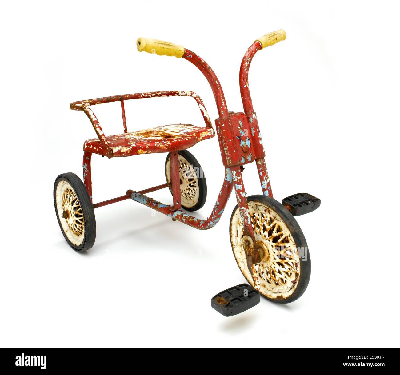Klassisches Dreirad Stockbild