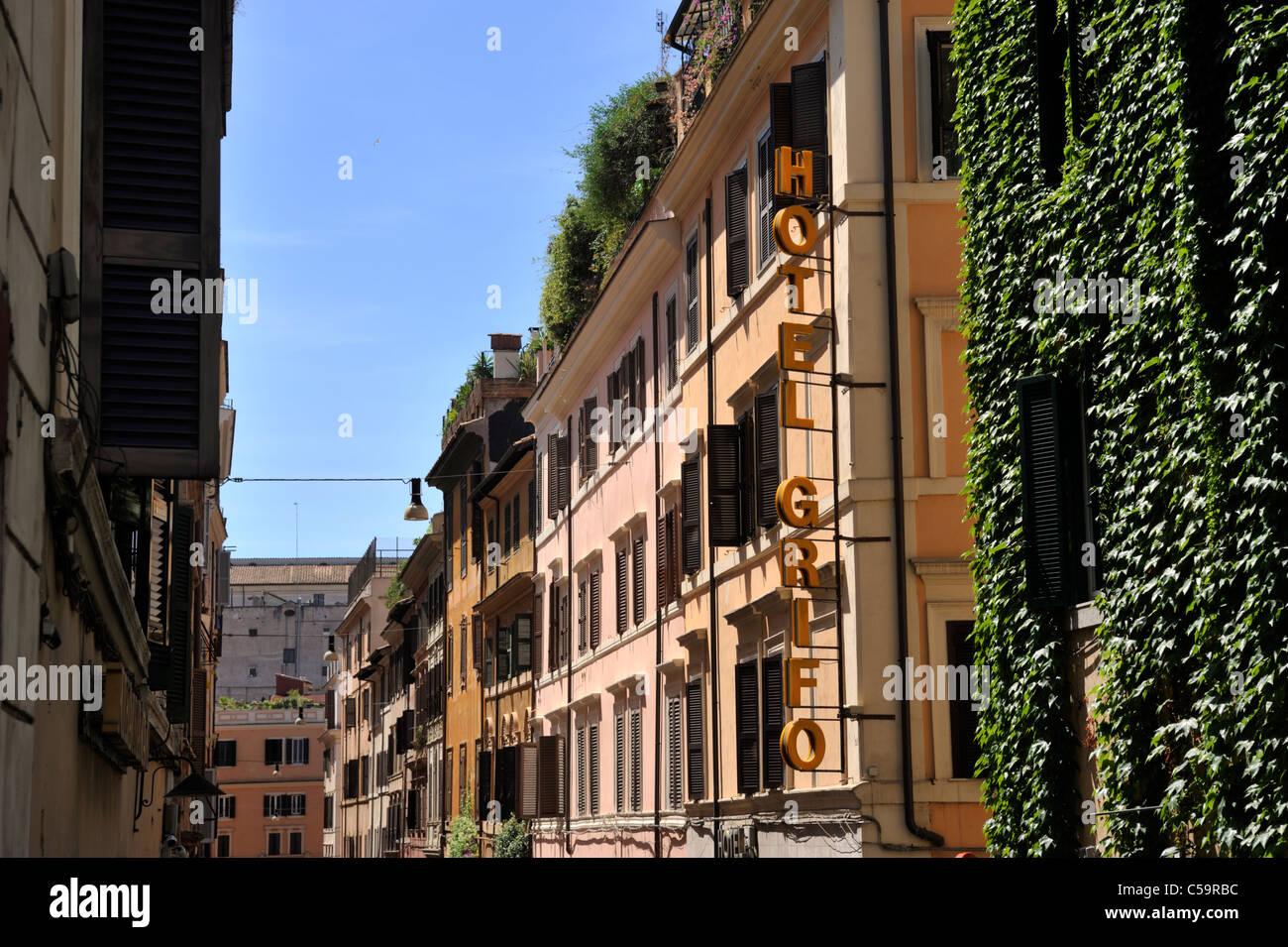 Italien, Rom, Monti Viertel, via del boschetto Stockbild