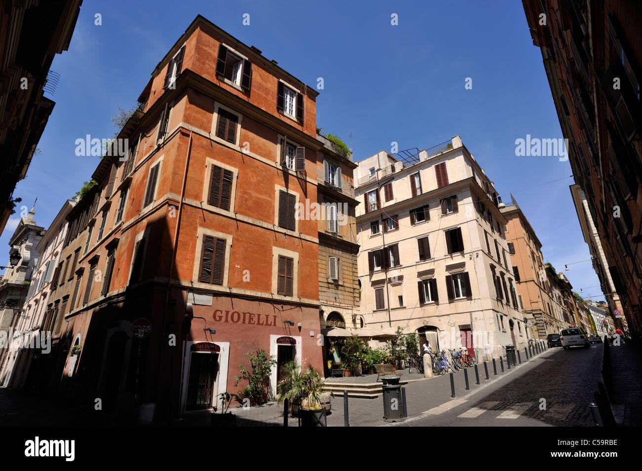 Italien, Rom, Monti Viertel, Via dell'angeletto Stockbild