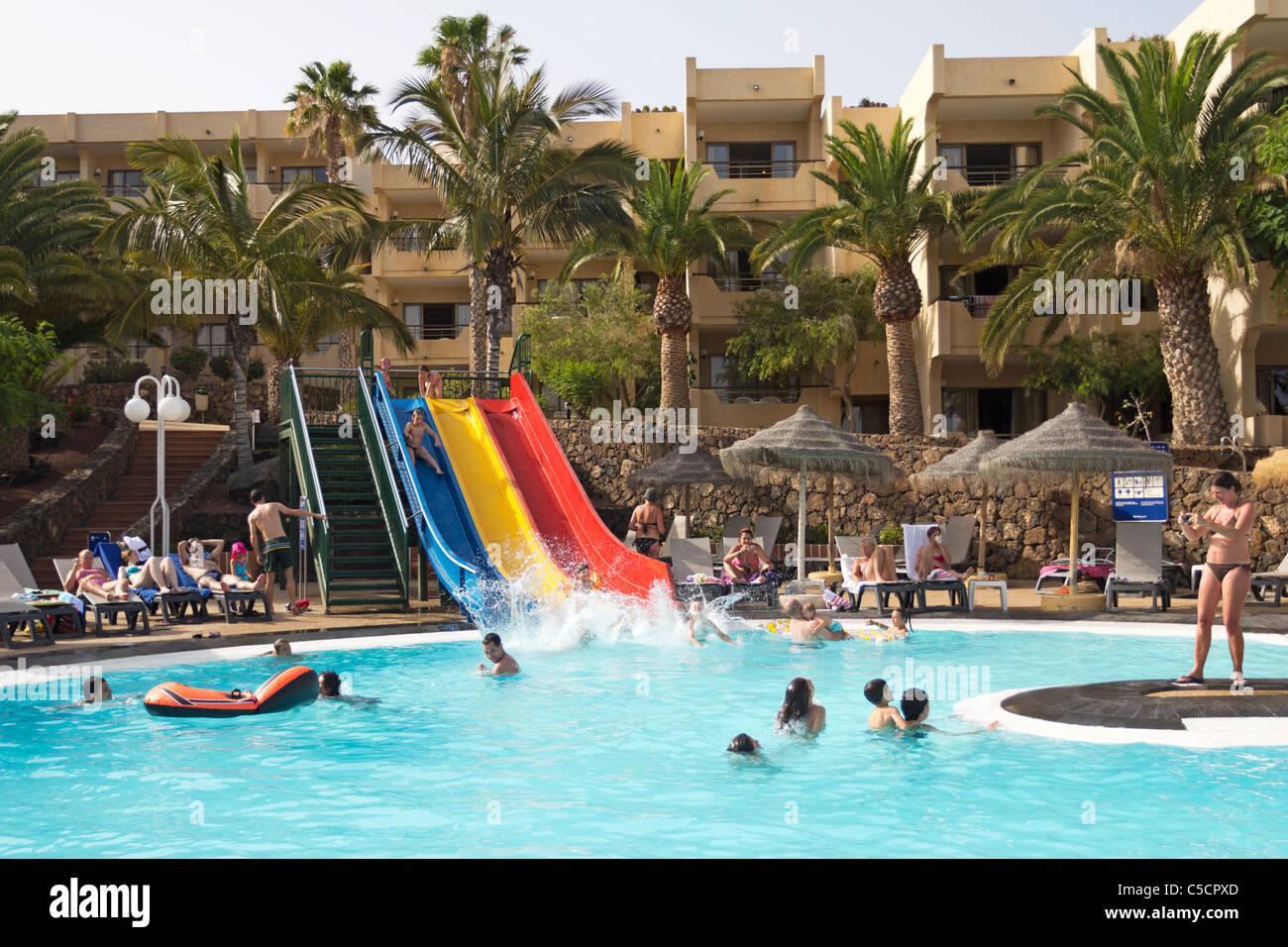 Barcelo Hotel - Costa Teguise - Lanzarote - Kanarische Inseln Stockbild