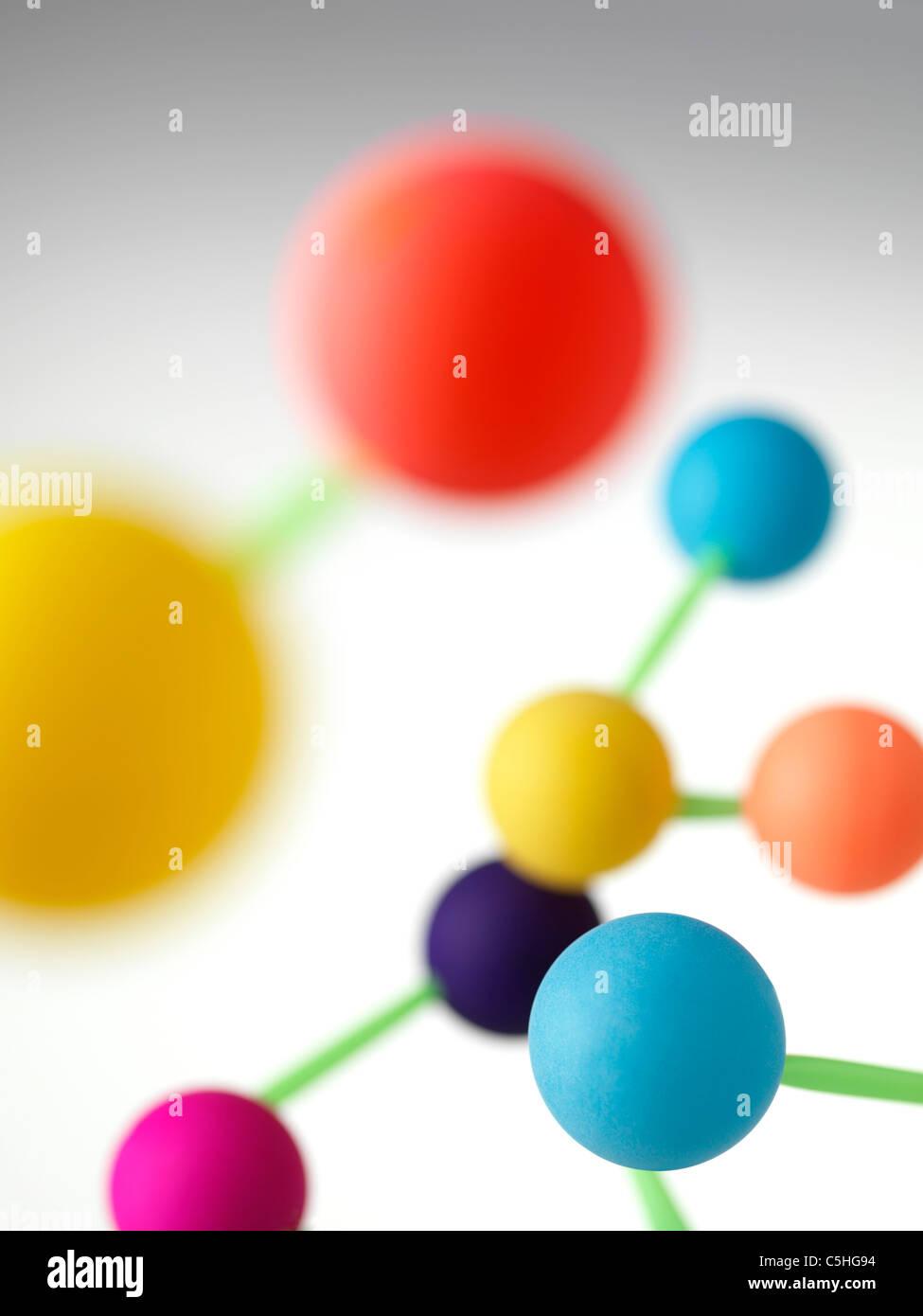 Molekulare Struktur Stockbild