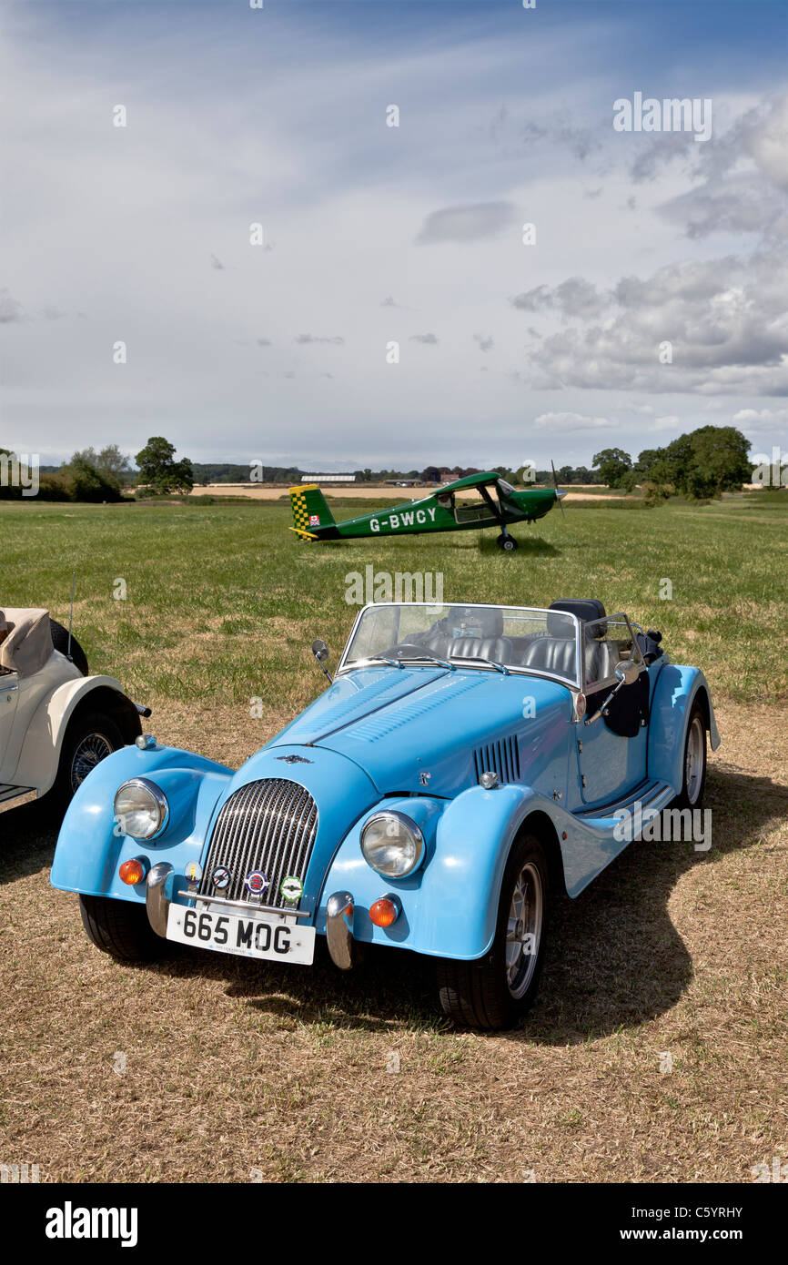 Morgan Roadster Sportwagen Stockbild