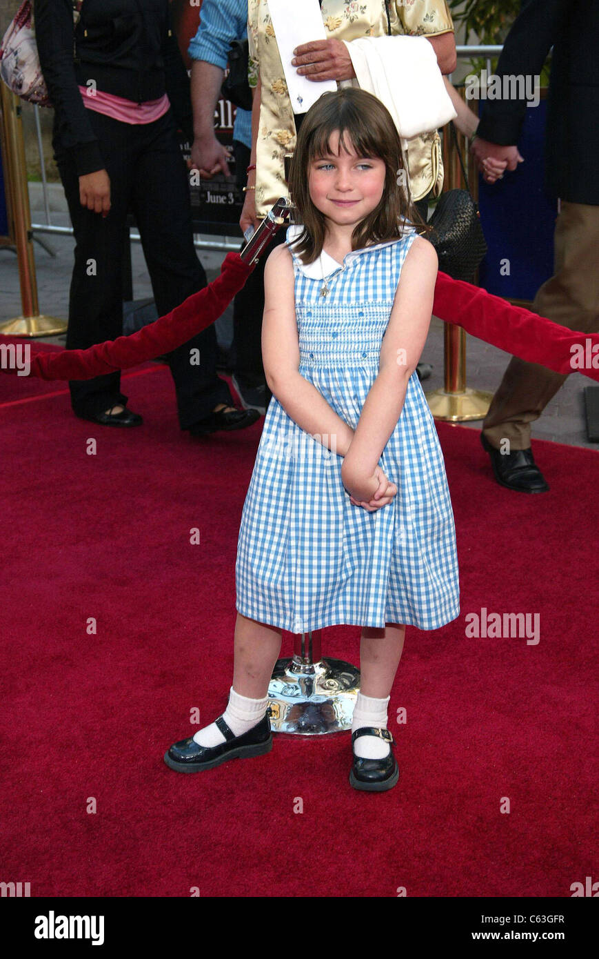 Ariel Waller im Ankunftsbereich für Aschenputtel Mann Premiere, Universal Studios-Kino am Universal CityWalk, Stockbild