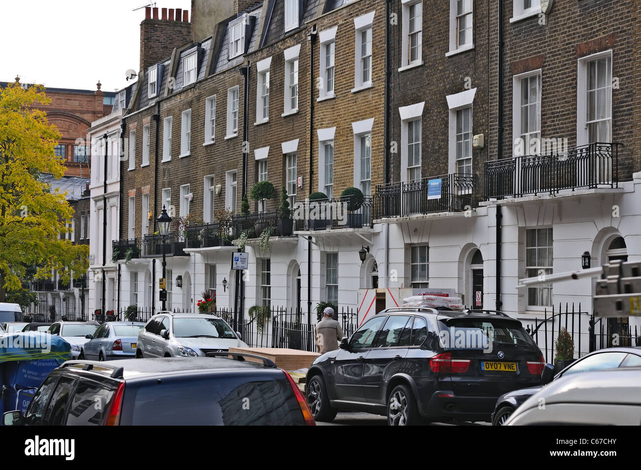 victorian london street stockfotos victorian london street bilder alamy. Black Bedroom Furniture Sets. Home Design Ideas