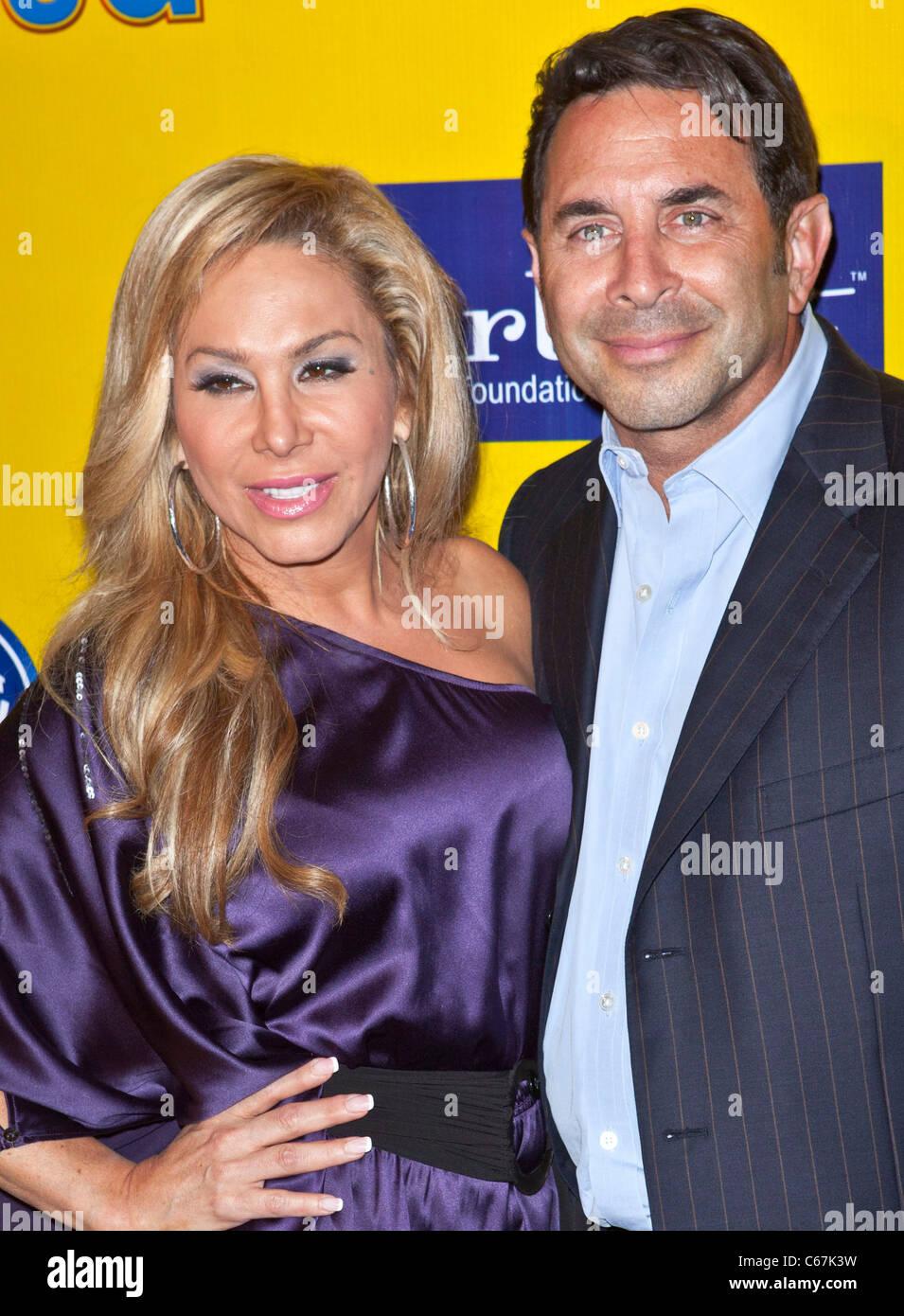Adrienne Maloof, Paul Nassif in Anwesenheit für Ringling Bros & Barnum & Bailey Benefit Premiere der Stockbild