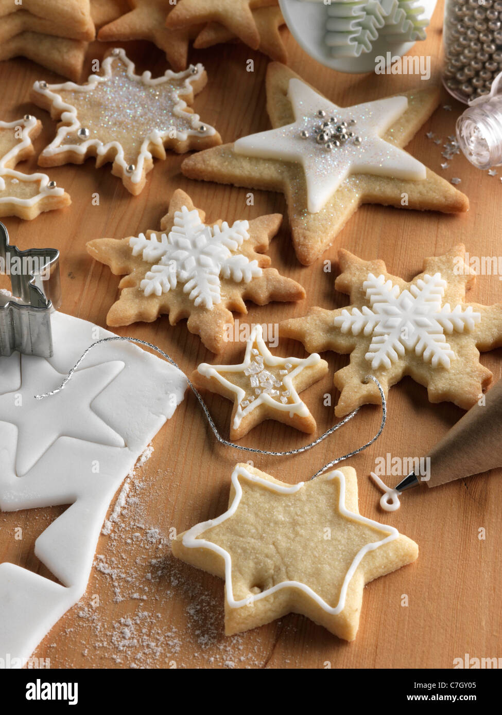 Christmas Cookies Kekse Stockbild