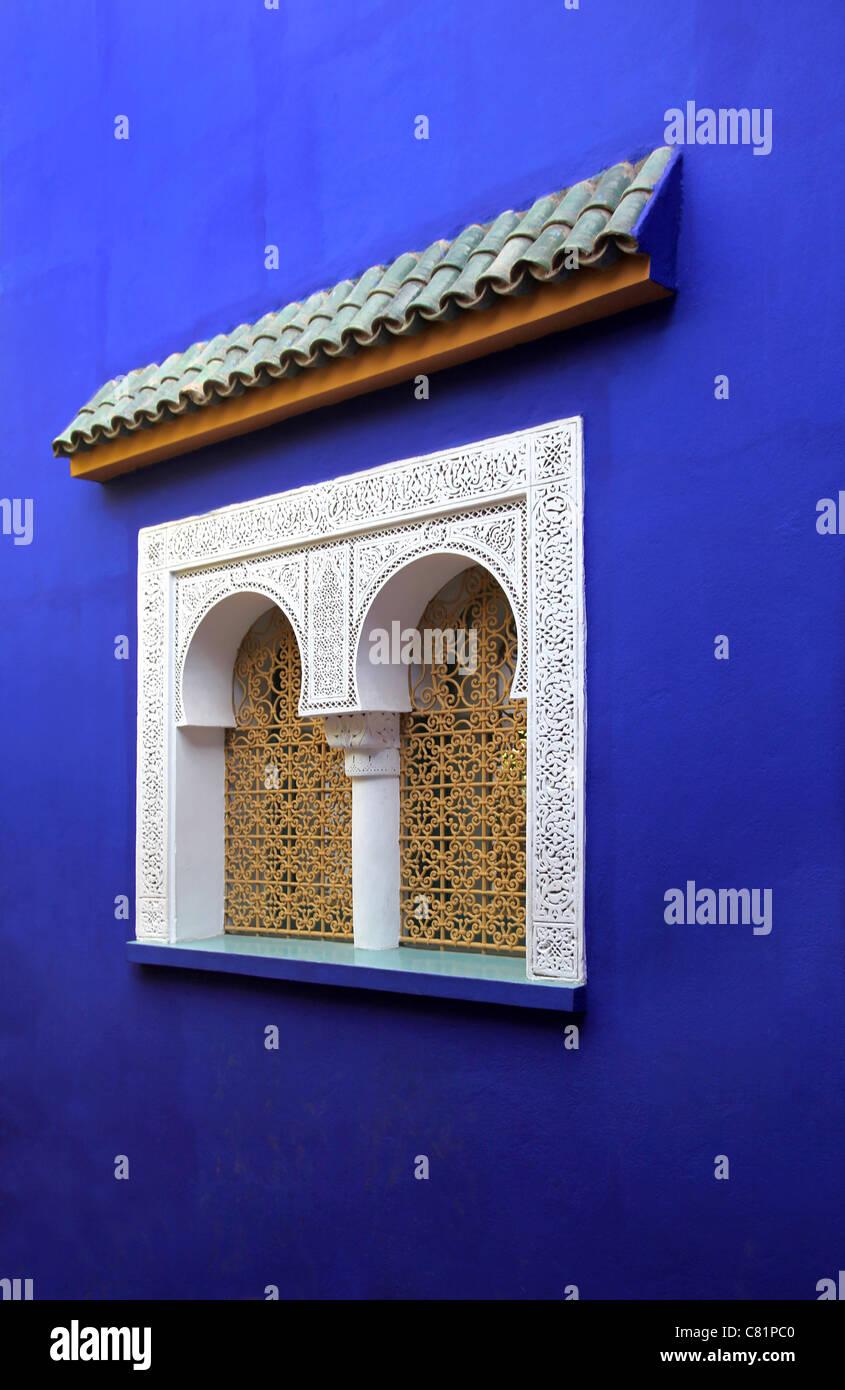 Marokkanische Fenster Stockbild