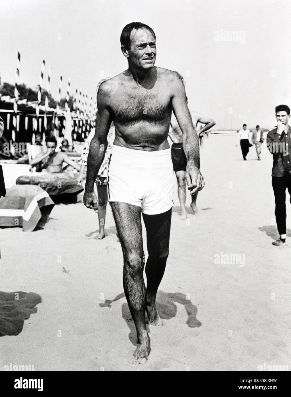 HENRY FONDA SCHAUSPIELER (1955) Stockbild