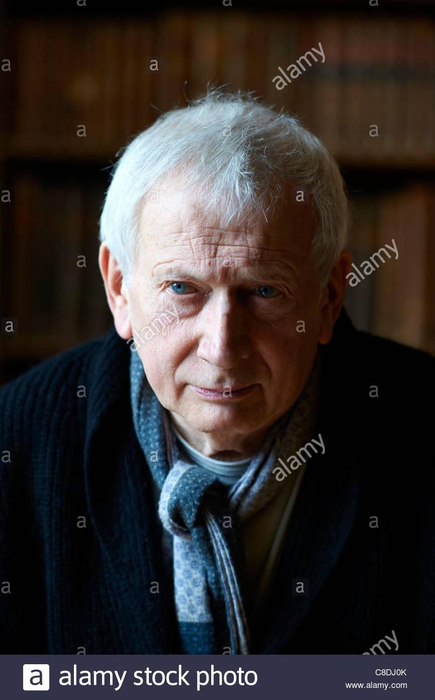 Paul Bailey, Schriftsteller, Autor von an Jerusalem und Klage am The Oxford literarische Festival 2011 Stockbild