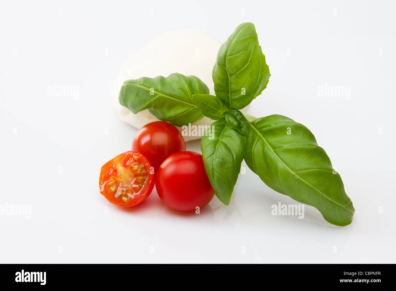 Frischer Salat Zutaten Stockbild