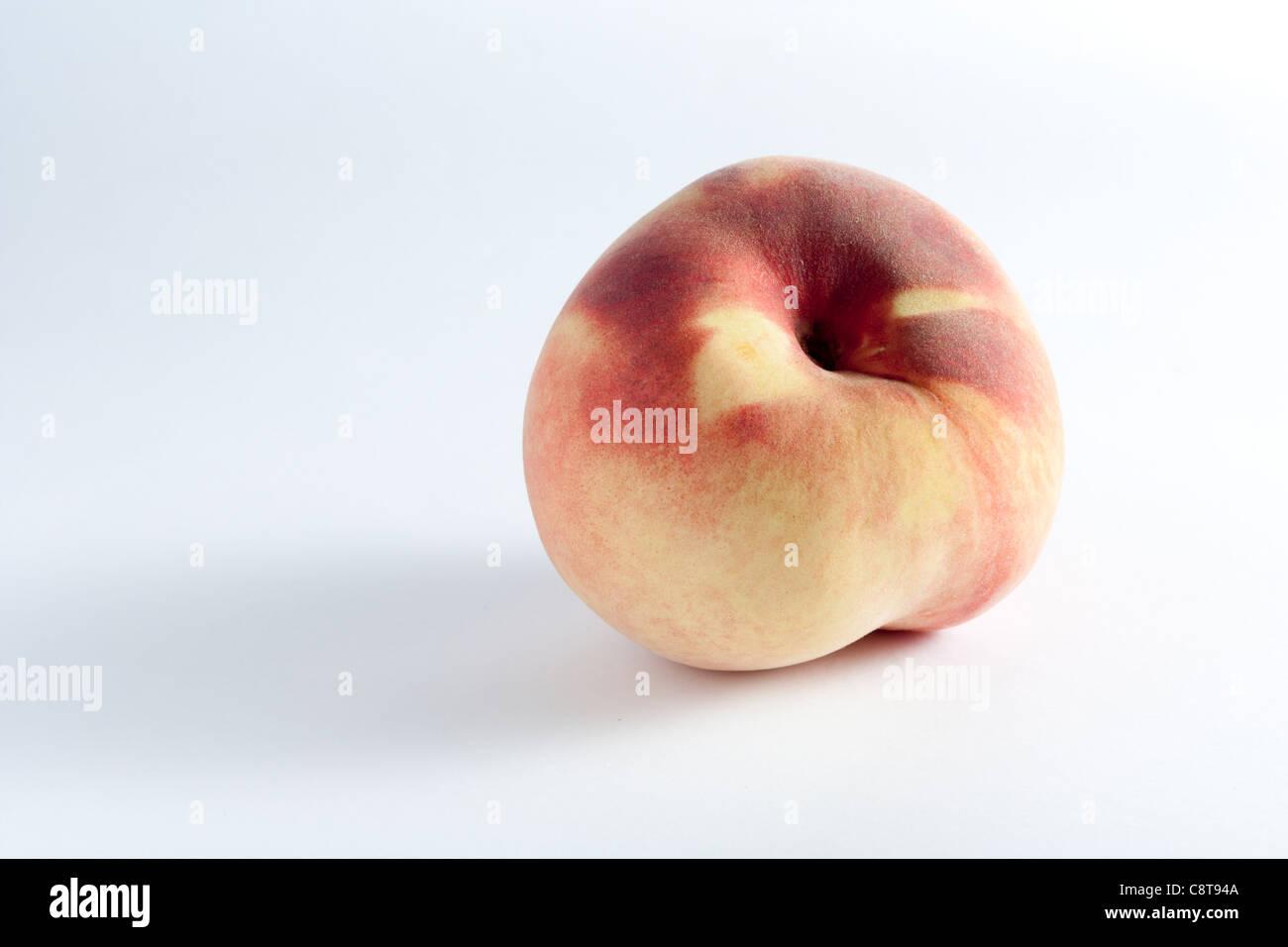 Weißer Pfirsich Stockbild