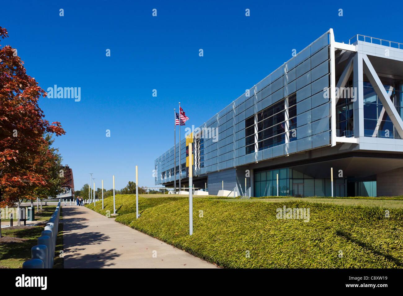 Die William J Clinton Presidential Library and Museum, Little Rock, Arkansas, USA Stockbild