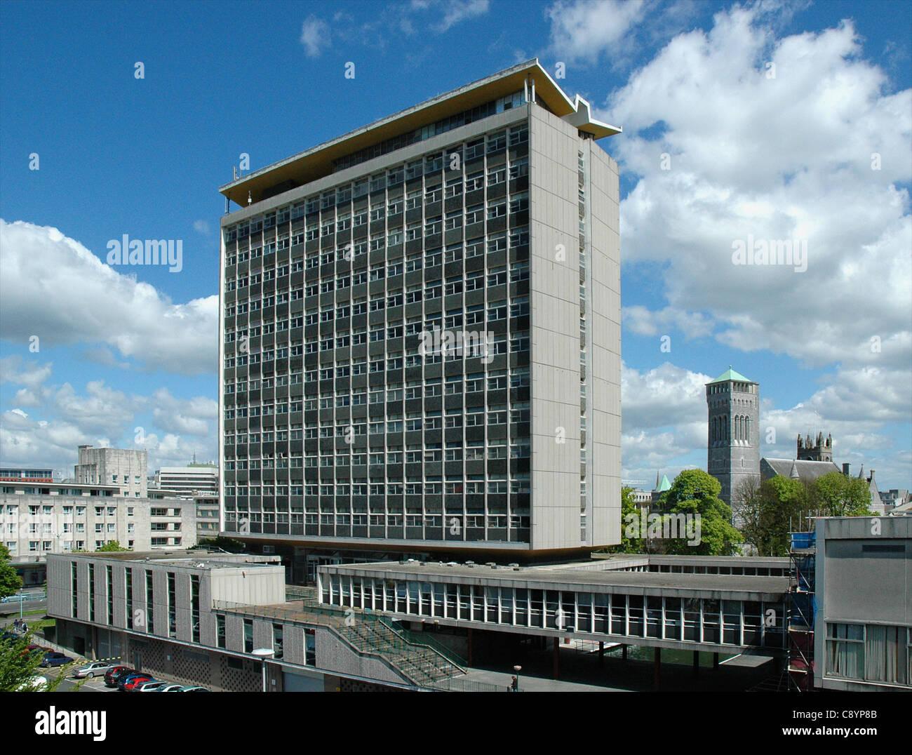 Plymouth Stadtrat Civic Centre Stockfoto