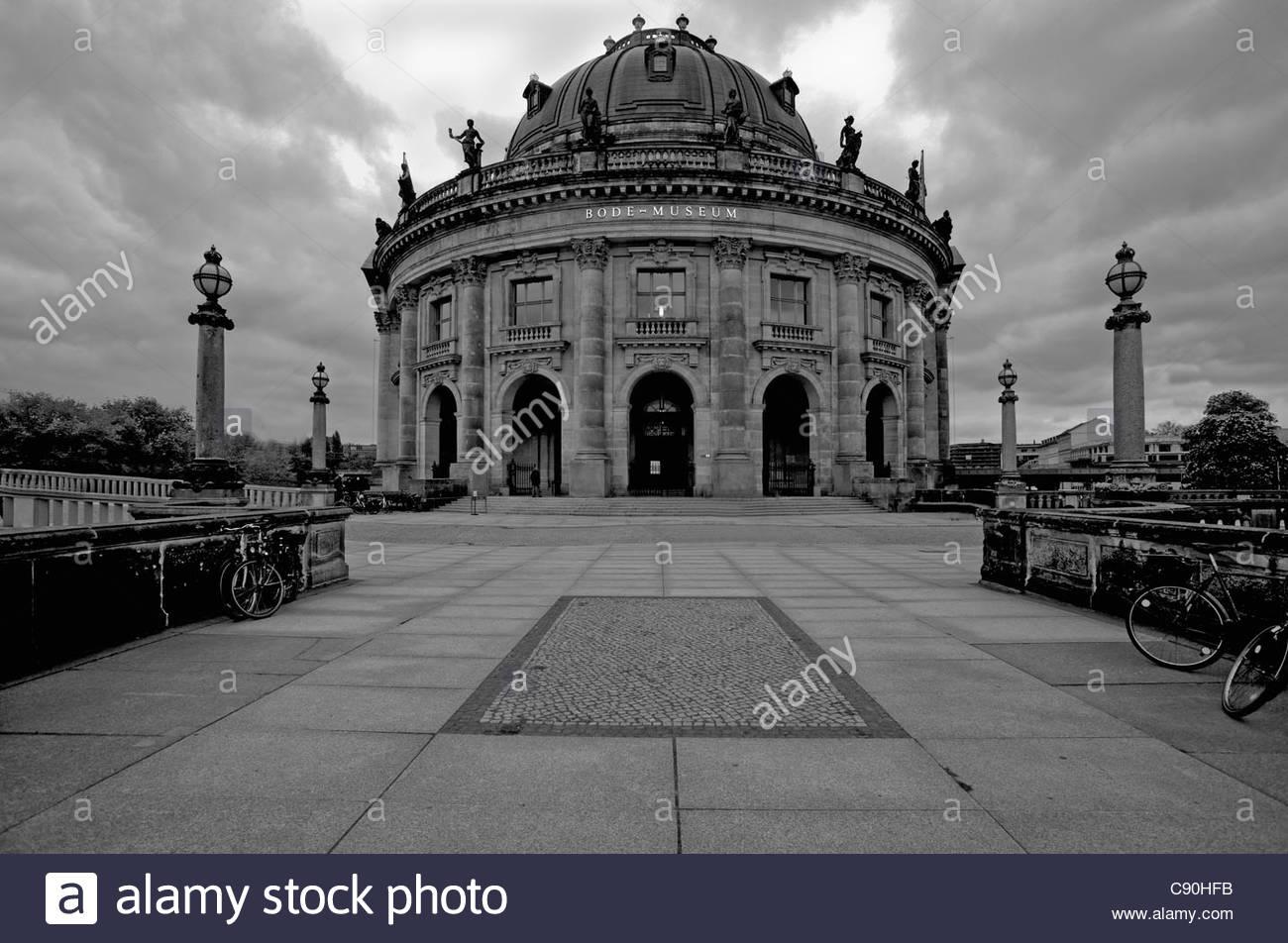 Reich verzierte Städtebau Stockbild