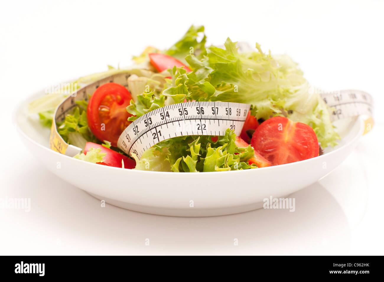 Diät, konzeptionelle Bild. Stockbild
