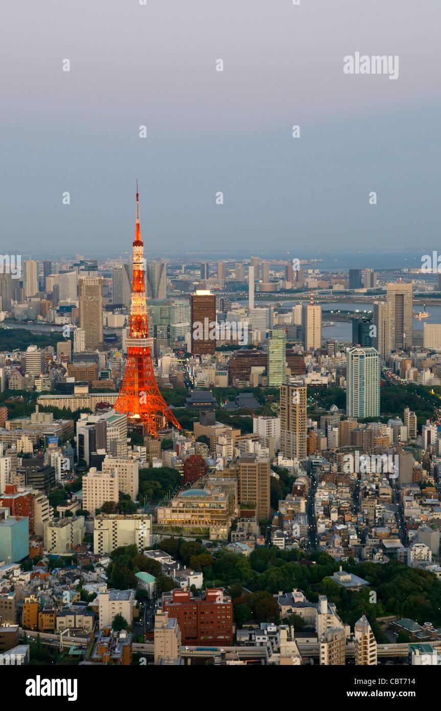 Tokyo Tower Tokyo Japan Stockbild