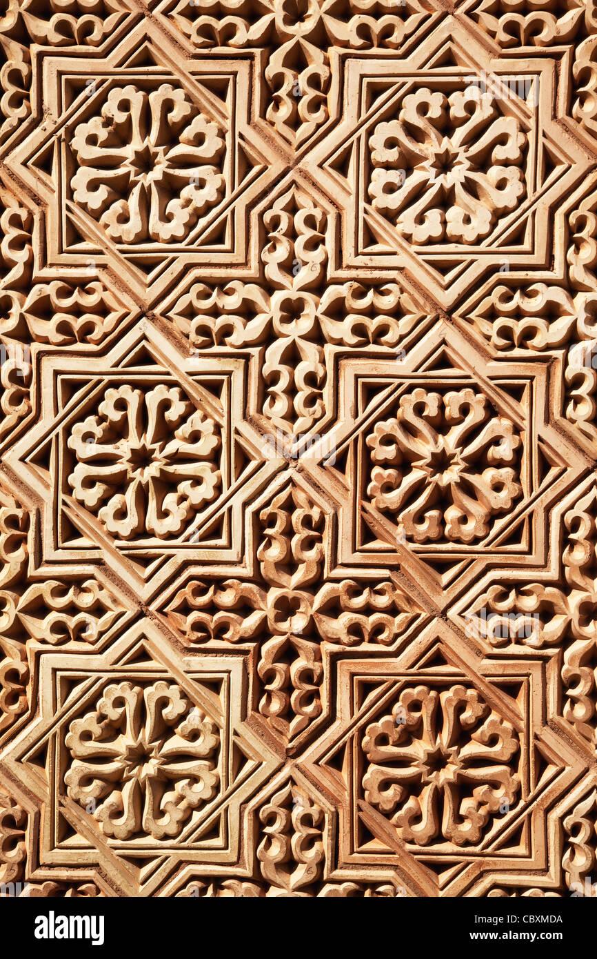 Hintergrund der klassischen arabischen Muster Stockbild