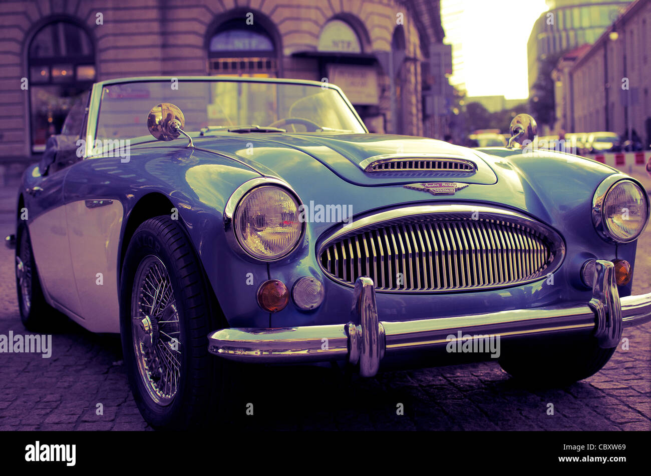 Austin Healey 3000 MkIII Stockbild