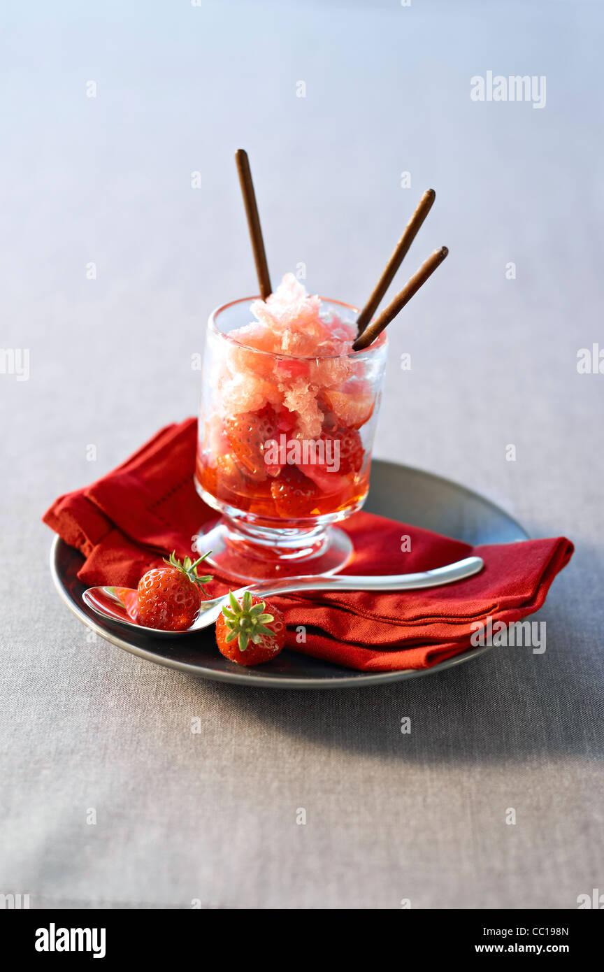 Granit Cranberry Jus Stockbild