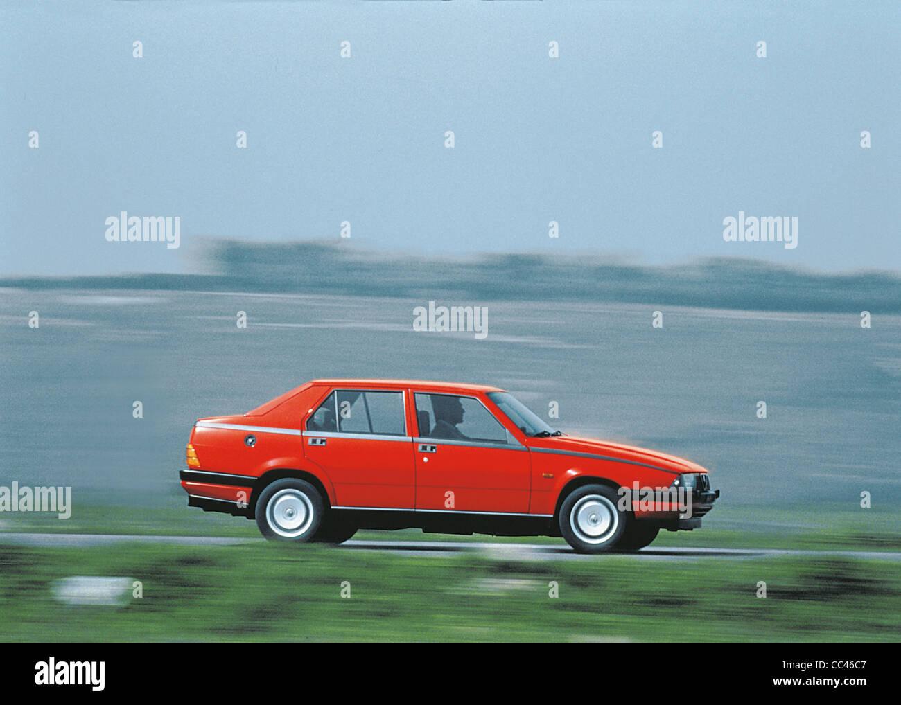 Auto des 20. Jahrhunderts Italien - Alfa Romeo Alfa 75. Jahre 1985-1988. Stockbild