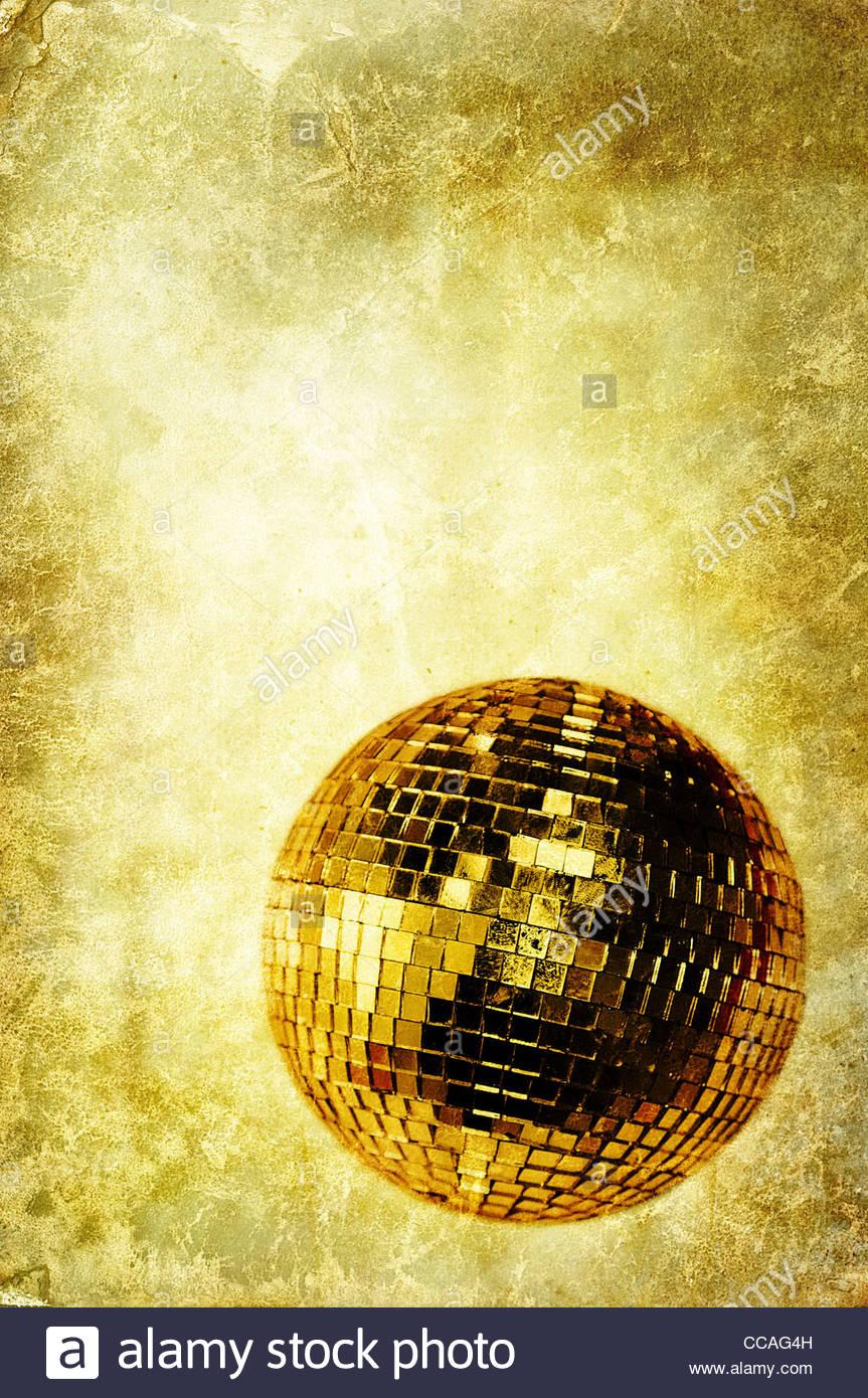Vintage Disco-Kugel Stockbild