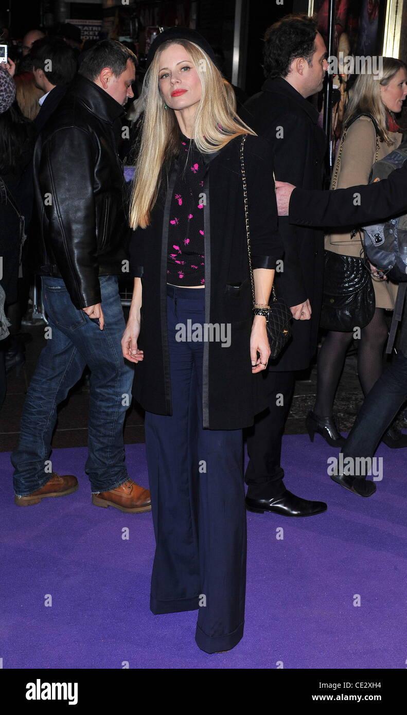 Laura Bailey Paul - UK Film-Premiere im Empire Leicester Square statt - Ankünfte. London, England - 07.02.11 Stockbild