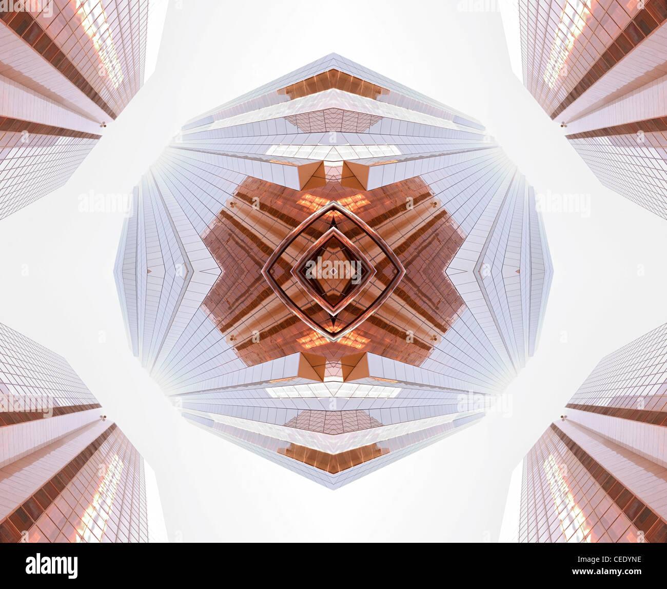 Architektur-abstrakt Stockbild
