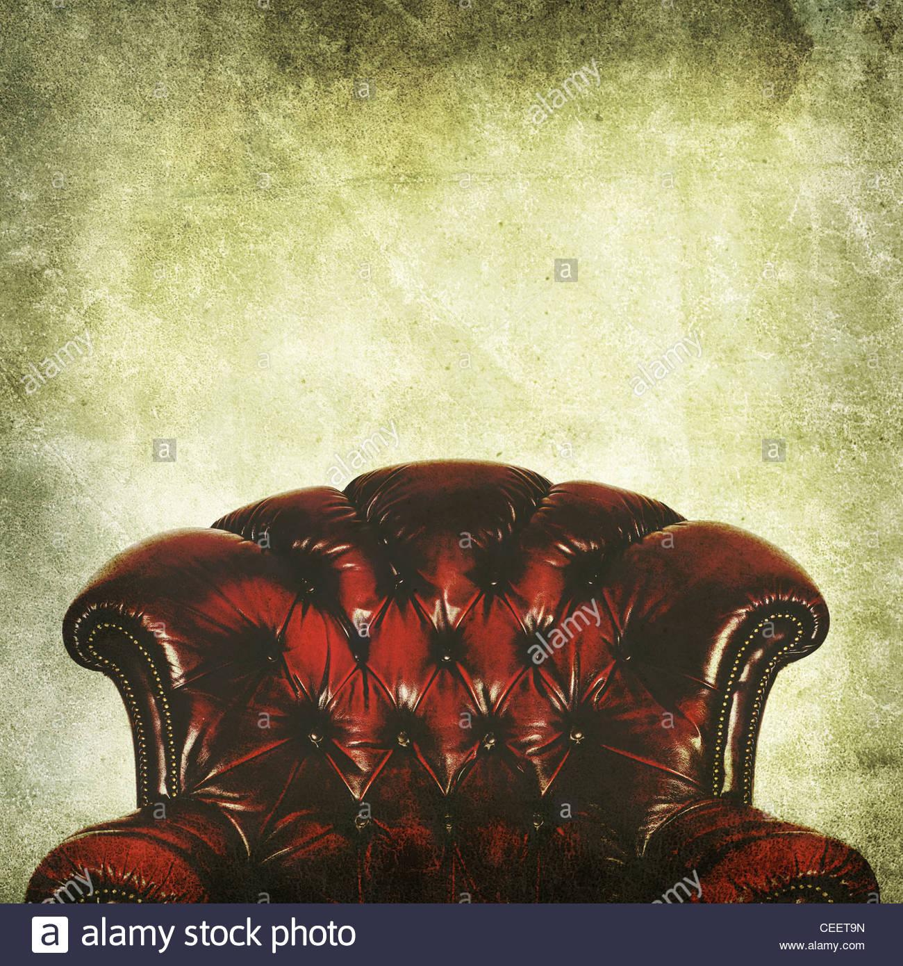 Vintage Sessel Stockbild