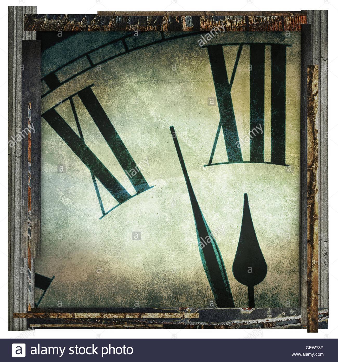 Zeit-Fine Art-Fotografie Stockbild