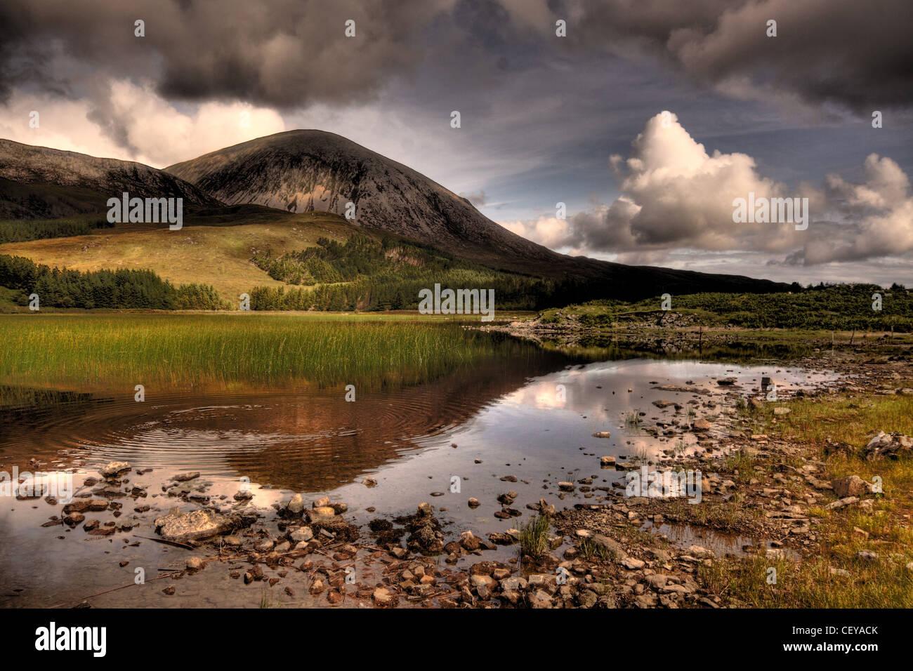Laden Sie dieses Alamy Stockfoto Straße nach Elgol, Isle Of Skye, Schottland - CEYACK