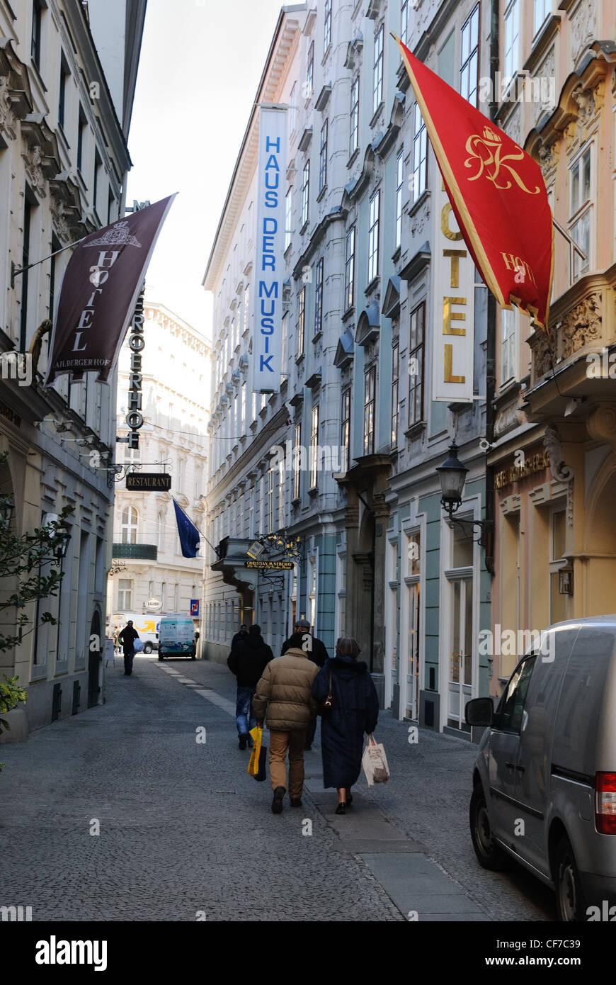Haus der Musik (Haus der Musik), Seilerstätte, Wien, Österreich, Europa Stockbild