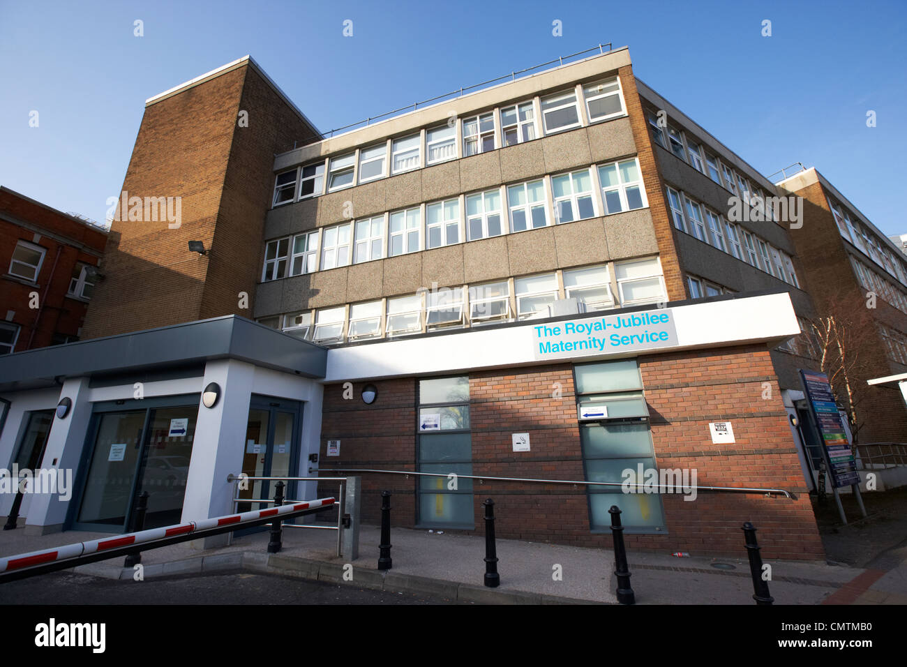 Royal Jubilee Mutterschaft Dienstleistungen Teil des Royal Victoria Hospital West Belfast Nordirland Vereinigtes Stockbild