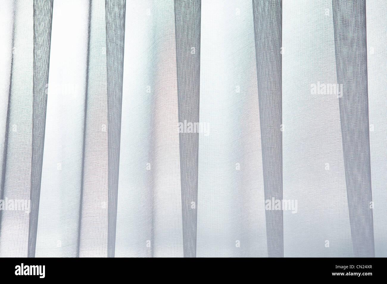 Gardine, abstrakte Stockbild