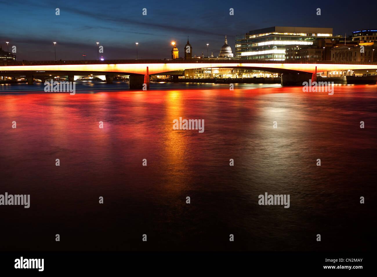 London Bridge, London, UK Stockbild