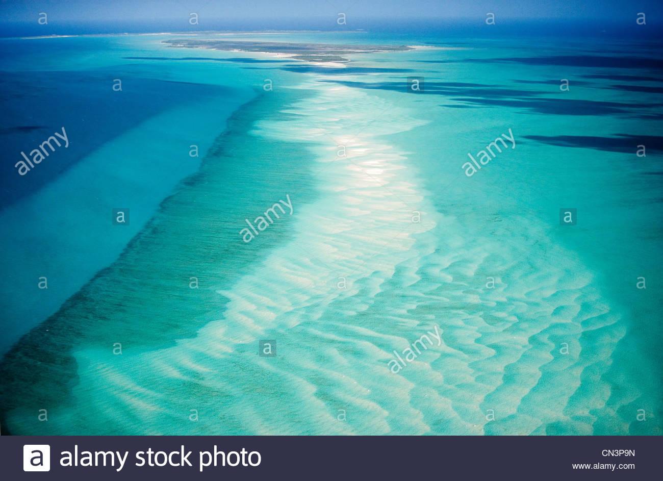 Antenne, Turks And Caicos Islands Stockbild
