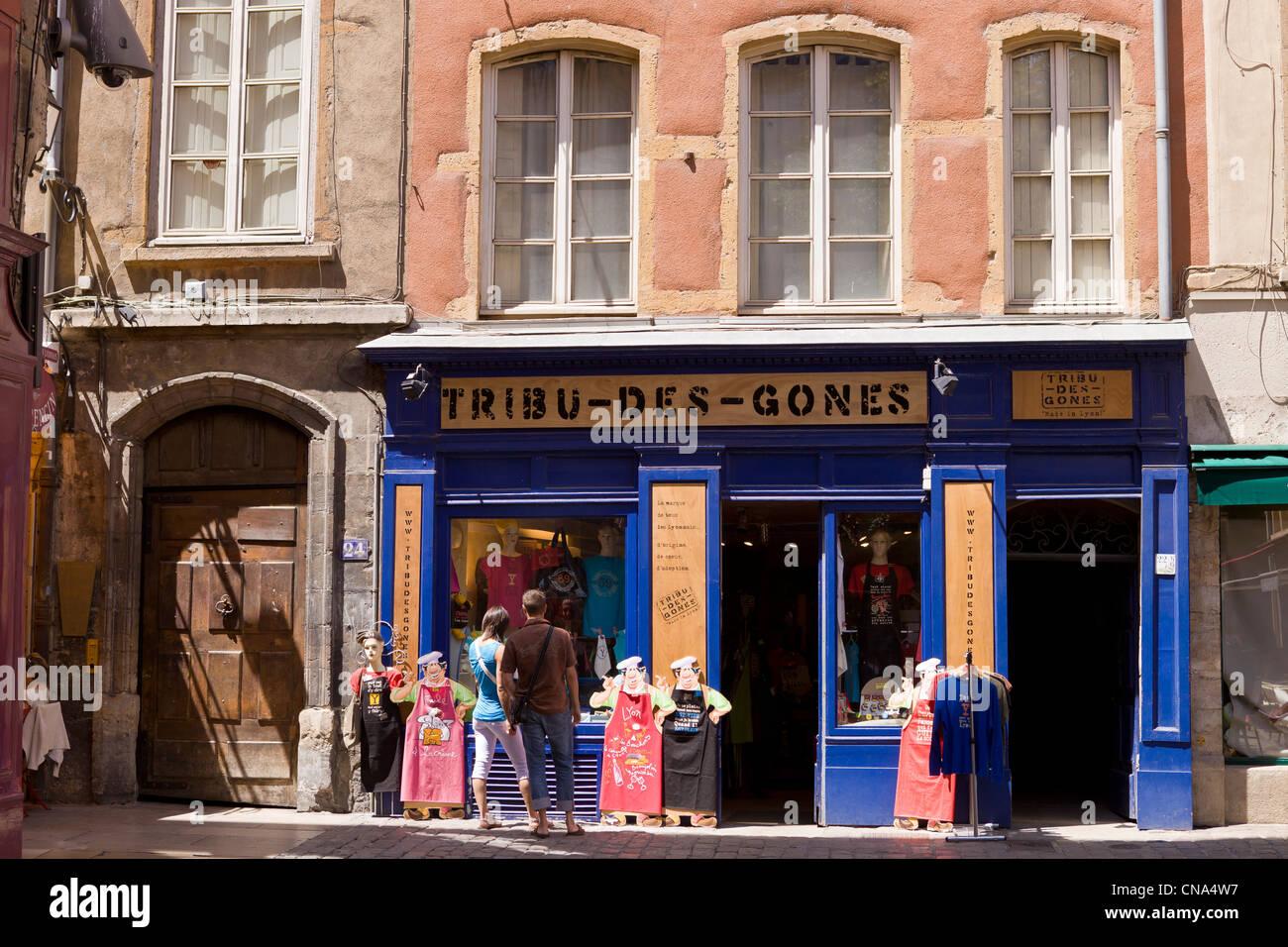 Restaurant Rue Merciere Lyon