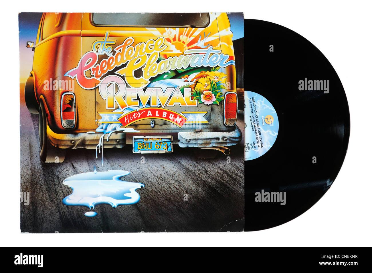 Creedence Clearwater Revival-Hits-album Stockbild