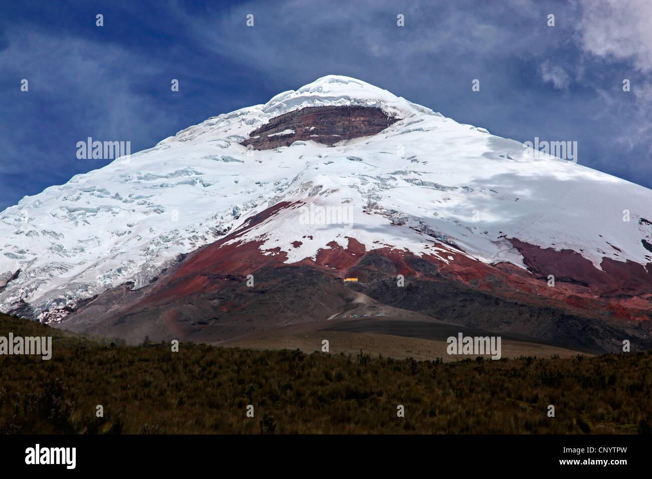Cotopaxi Vulkan, Ecuador, Cotopaxi-Nationalpark Stockbild
