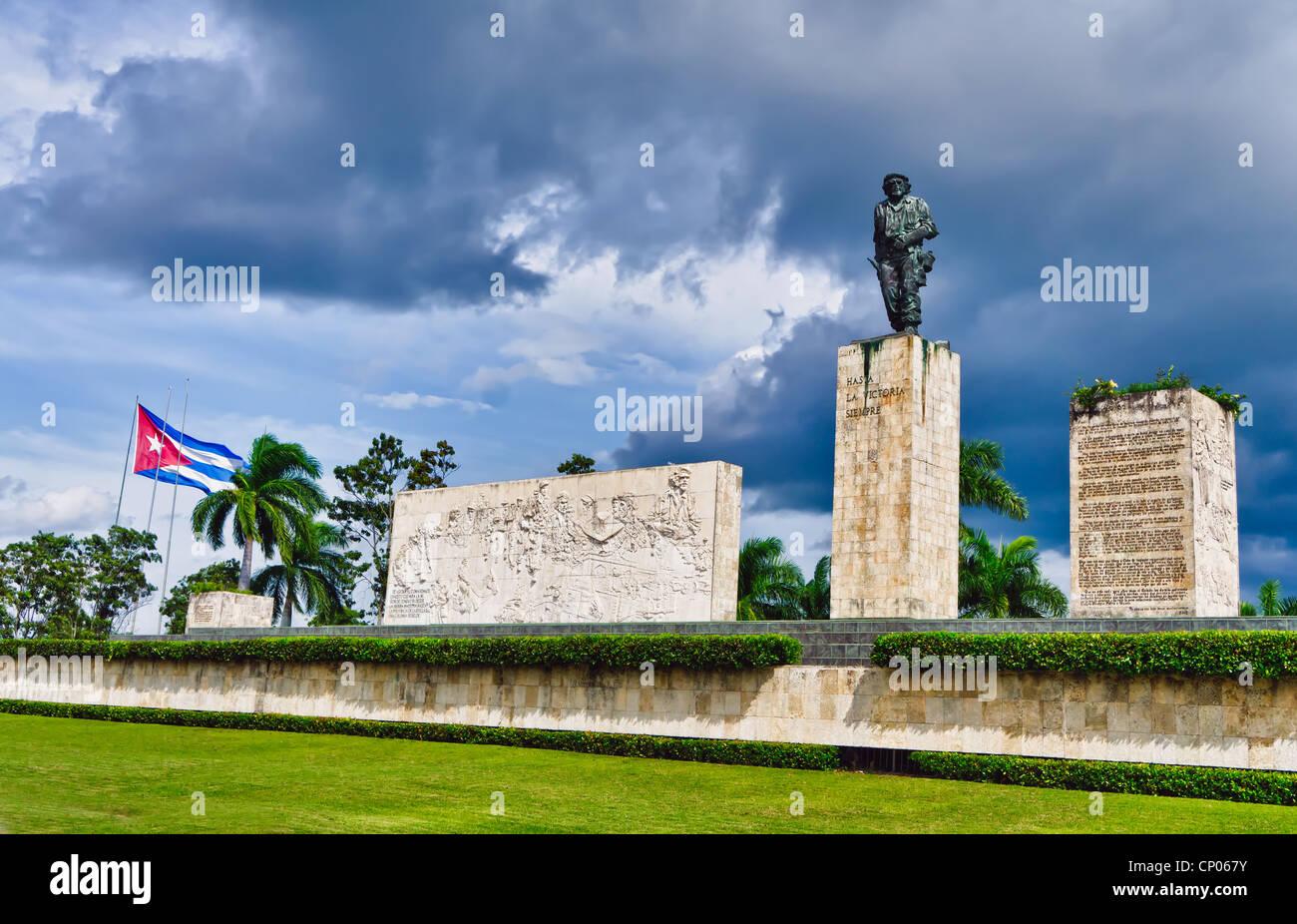 Che-Guevara-Denkmal, Plaza De La Revolution, Santa Clara, Kuba Stockbild