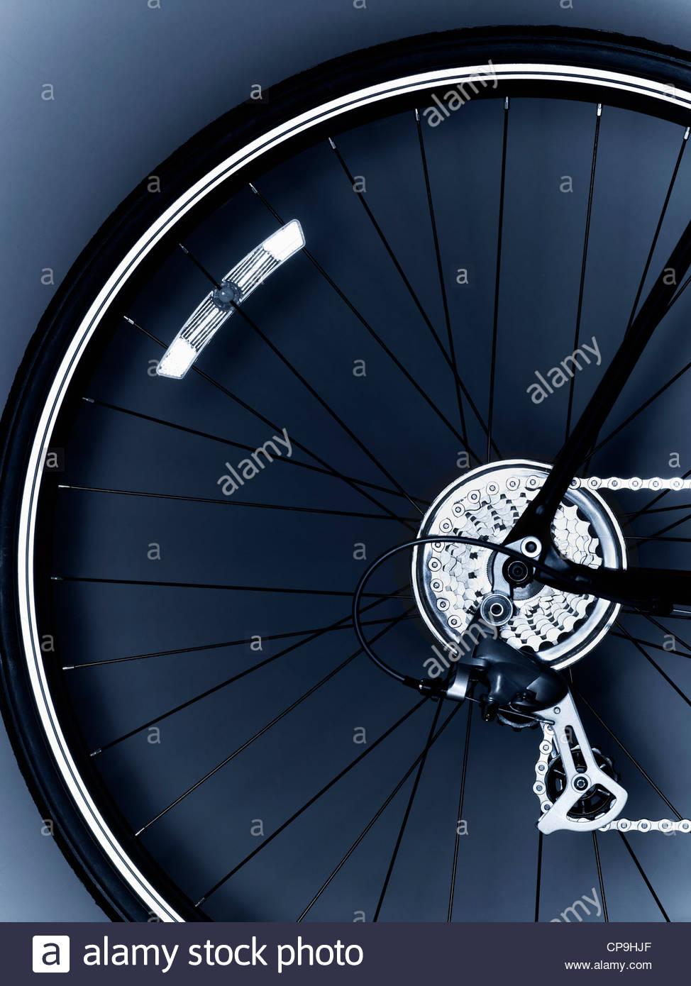 Fahrrad, Fahrrad-Ausrüstung, Fahrradreifen, Kette, Nahaufnahme, Rädchen, Farbe, detail, Getriebe, keine Stockbild