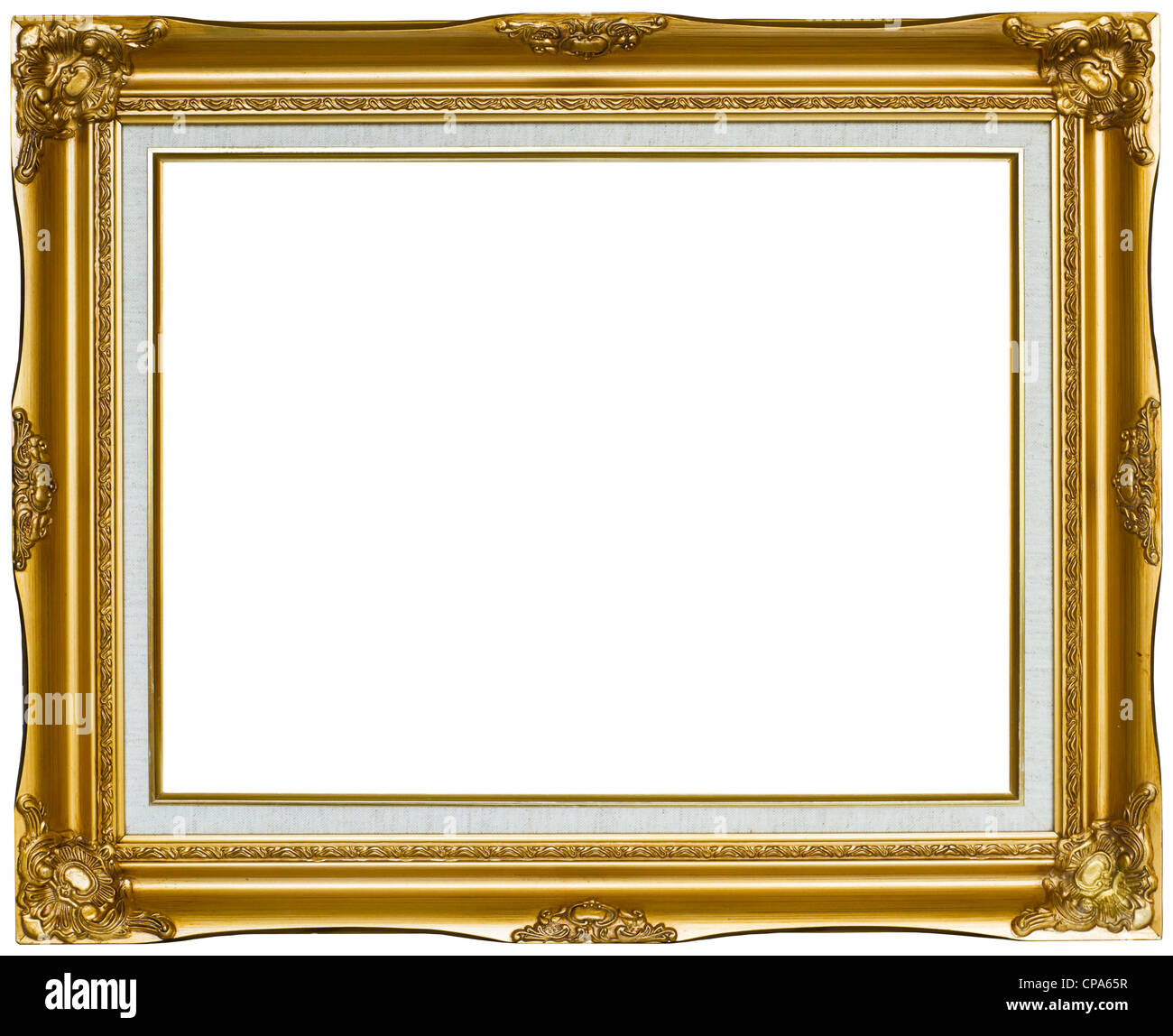 vintage gold bilderrahmen stockfoto bild 48167555 alamy. Black Bedroom Furniture Sets. Home Design Ideas
